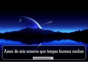 imagen de buenas noches amor