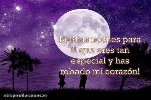 mensajes de buenas noches para una persona especial