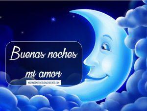 mensajes para dar buenas noches a mi amor