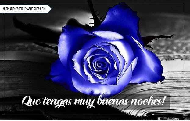 Imágenes de buenas noches con rosas