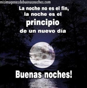 Imagenes de buenas noches con la luna llena