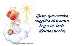 imagenes de buenas noches con angelitos