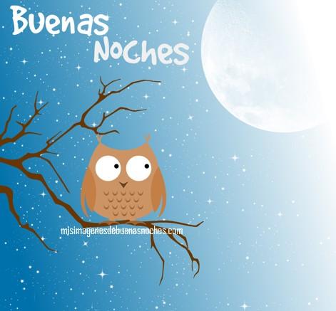 imagenes de buenas noches con luna y estrellas