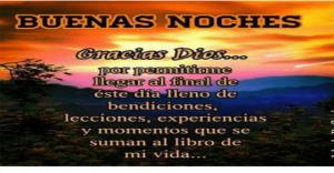 Imágenes de buenas noches bendiciones