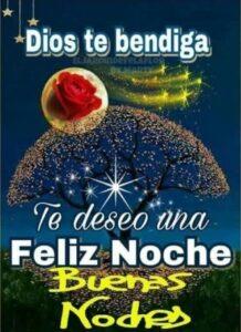 Imágenes de feliz noche bendiciones