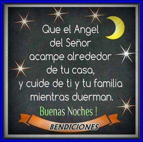 Imágenes de buenas noches muchas bendiciones