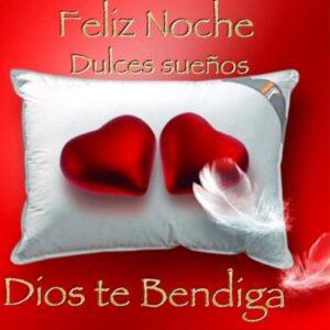 Buenas noches que Dios te bendiga