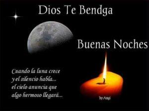 Imágenes de buenas noches que Dios te bendiga
