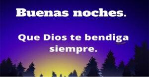 Imágenes de feliz noche Dios te bendiga