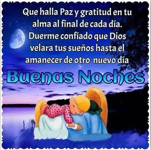 Feliz descanso buenas noches