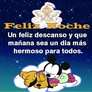 Feliz noche mi amor buenas noches que descanses