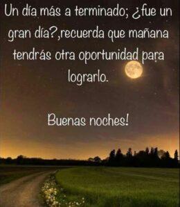 Buenas noches Dios los bendiga