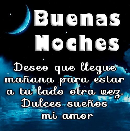 Feliz noche amor mio