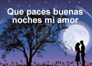 Buenas noches amor mío