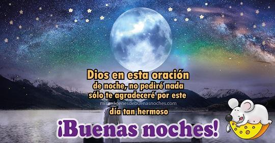 oracion de buenas noches