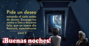 deseo de buenas noches