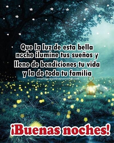 buenas noches y bendiciones familia