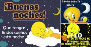 tarjetas de buenas noches con piolin