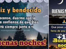 bendiciones de Dios y buenas noches